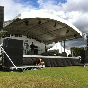 Stages & Marquees Festival Hire