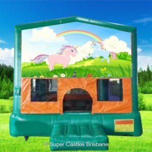Unicorn Small Banner Castle