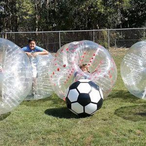 Bubbles Bumper Soccer