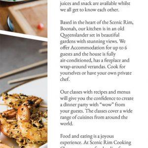 Cooking Classes Scenic Rim