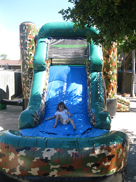 army inflatable slides