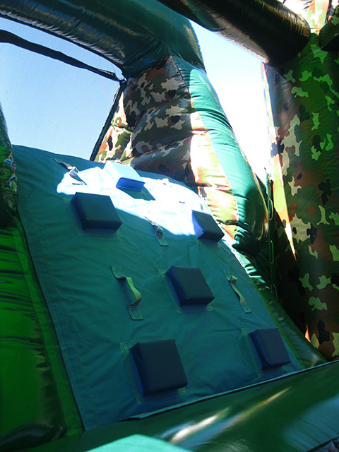 camouflage inflatable slides