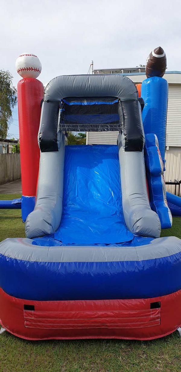 Slide - sports combo castle
